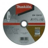 DISCO CORTE INOX  4.1/2 X 3/64 X 7/8 MAKITA